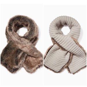 Stella & Dot Chantal Reversible Faux Fur